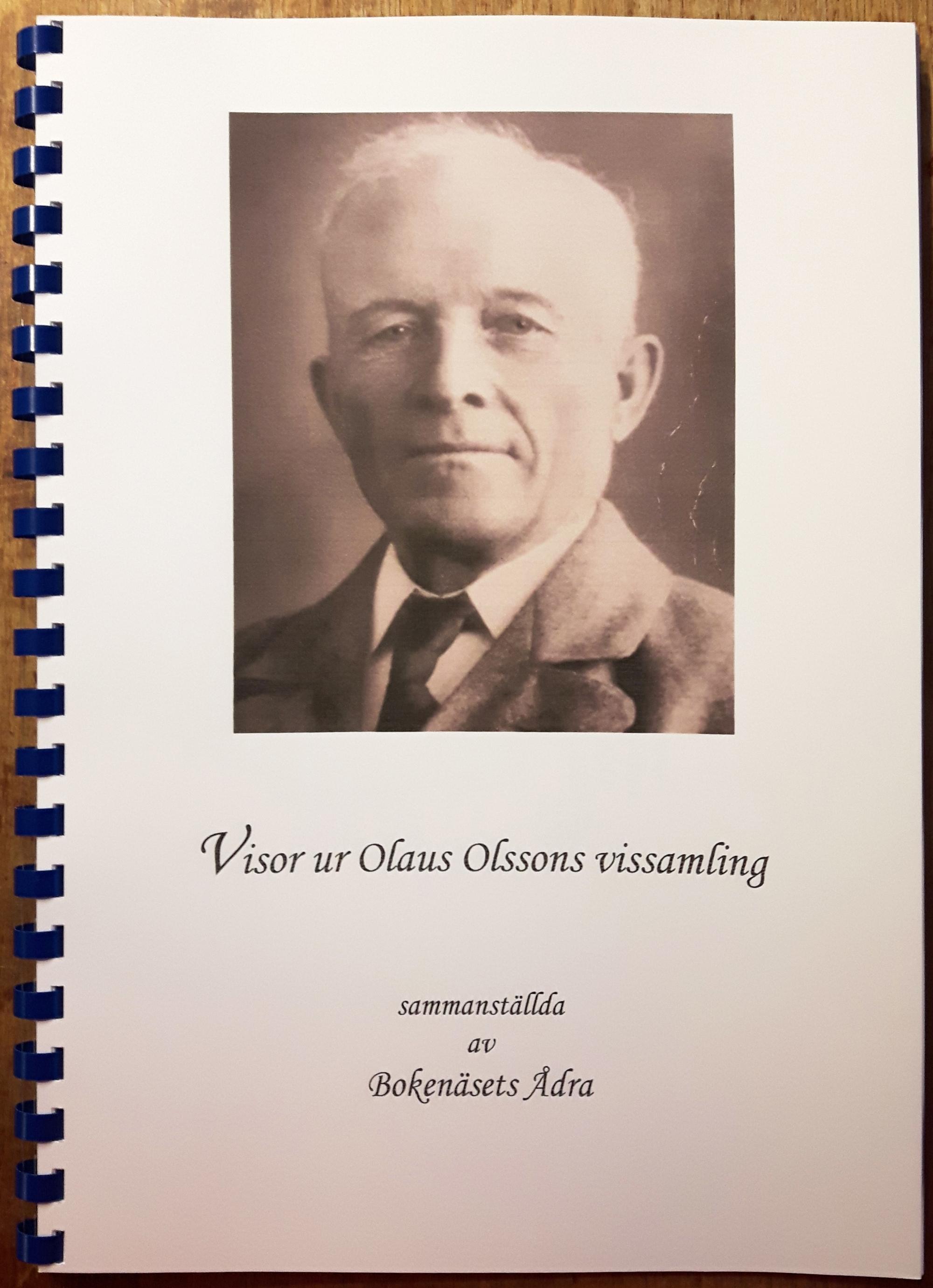 Häfte Visor ur Olaus Olssons vissamling a